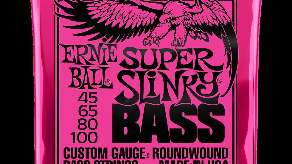 Ernie Ball Super Slinky Electric Bass Strings 45 - 100