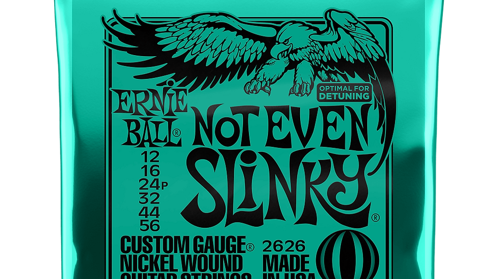 Ernie Ball Not Even Slinky Guitar Strings 12 - 56