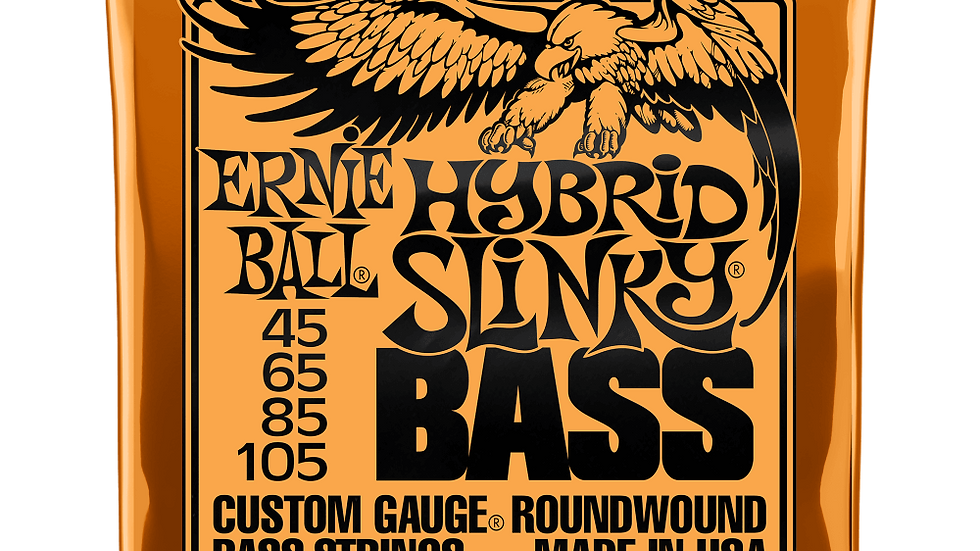 Ernie Ball Hybrid Slinky Electric Bass Strings 45-105