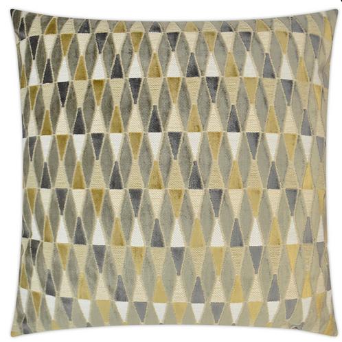 Abrash-Mustard Pillow