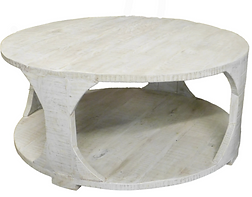 44_ Round Coffe Table-Greyson Finish $88