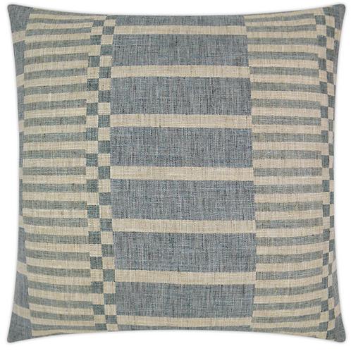 Rochester-Blue Pillow