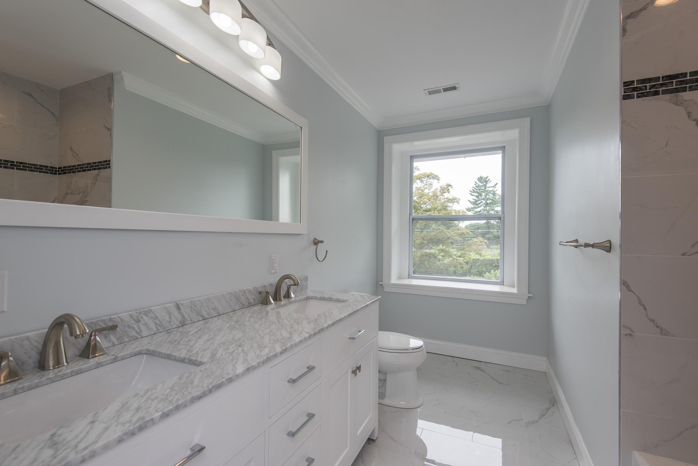 Upstairs Hall Bathroom (After)