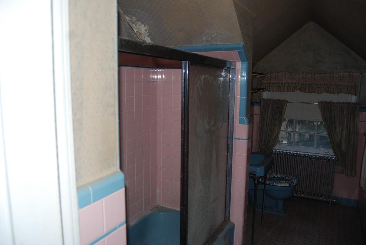 Attic Bathroom (Before)