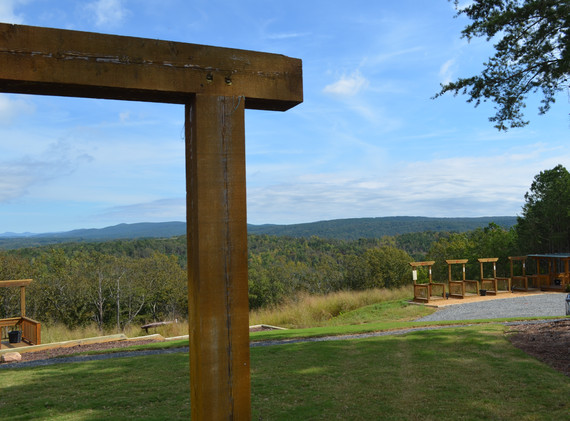 It doesn't get much prettier than this - Garland Mountain Sporting Clays