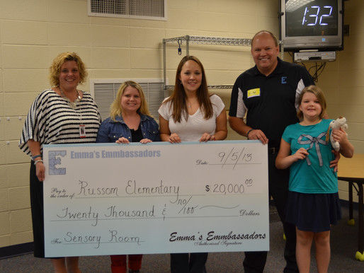 Russom Gets an Upgraded Sensory Room
