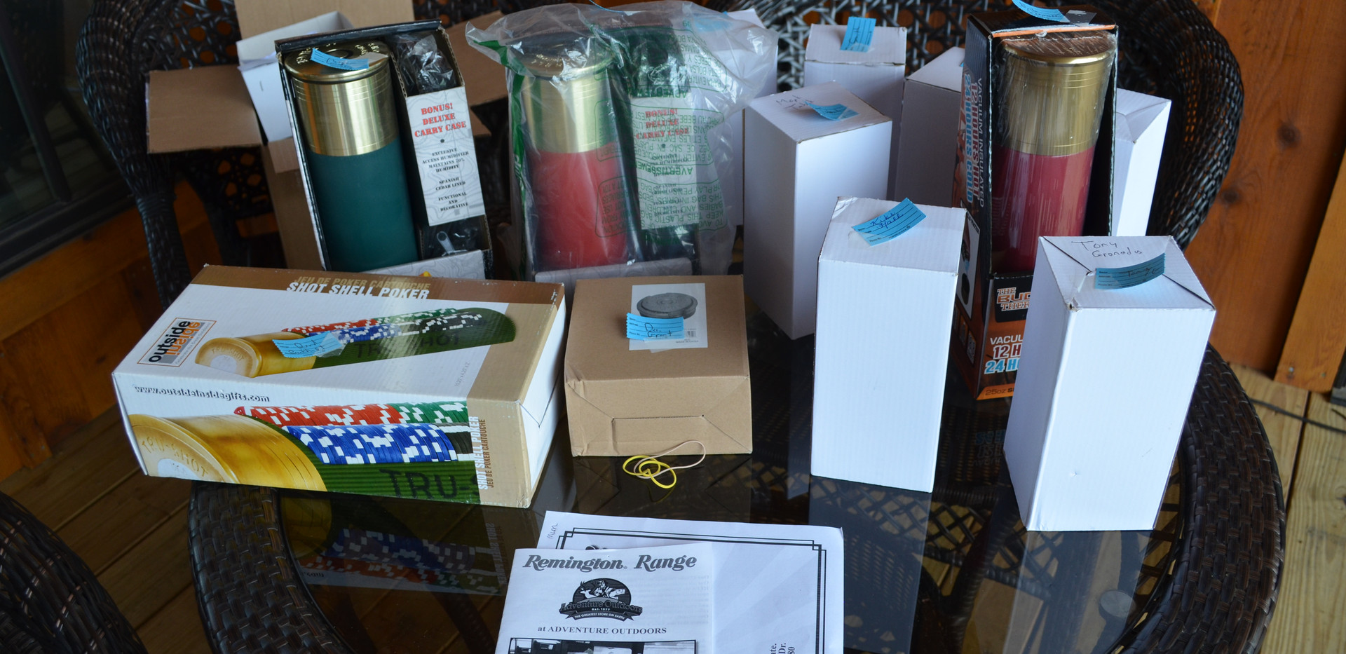 Thanks for all the great raffle prizes