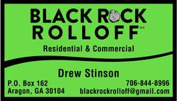 Black Rock Rolloff Logo