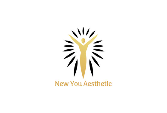 New You Aesthetic Black and Gold LOGO .j