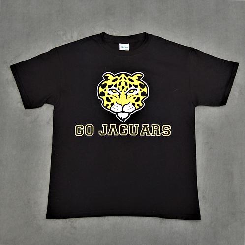 Go Jaguars T-shirt, black