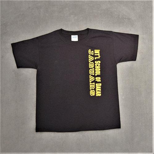Kids ISD Jaguars T-shirt, black