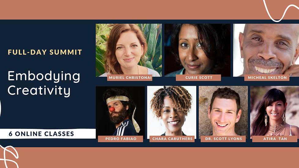 March - 1 Day Summit - Embodying Creativ