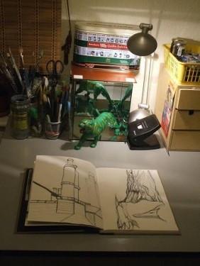 Studio appreciation (and envy)