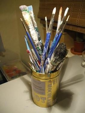Battered brushes