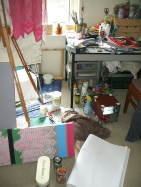 Untidy and unproductive