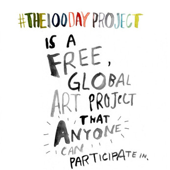 #the100dayproject challenge 2018