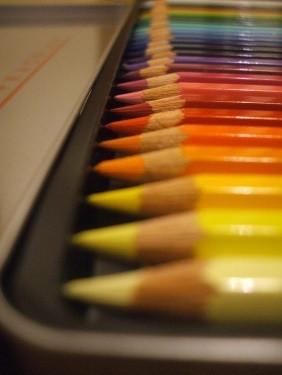 Retro crayons