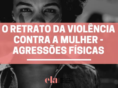 O Retrato da Violência contra a Mulher - Agressões Físicas