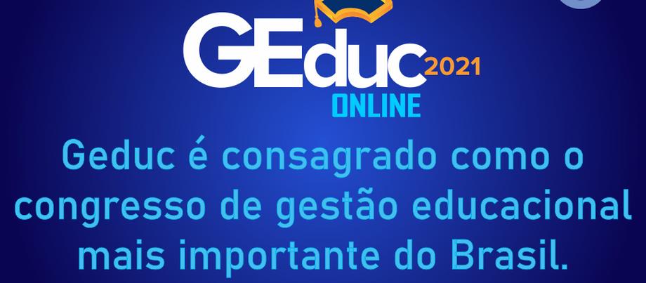 GEduc 2021 discute ensino híbrido, inovação e tecnologias educacionais do futuro