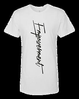 Empowerment White T Shirt.png