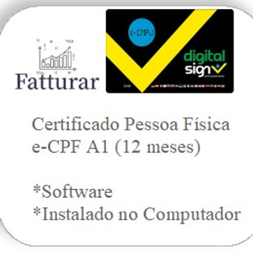 e-CPF A1 (12 meses)