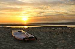 coucher de soleil Sangatte
