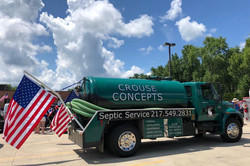 Patriotic Pump Truck