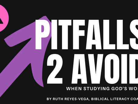 Pitfalls To Avoid When Studying The Bible