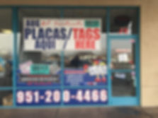 We are an Independenttly OwnedBuisness that OffersInstant Registration Service in the City of Perris CA