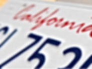 Auto Registration Plate Bakersfied Delano wasco earlimart perris