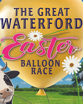 balloon race fundraising for village hall at Easter