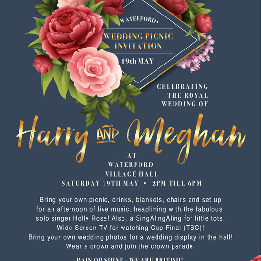 VILLAGE PARTY - Harry-&-Meghan Wedding