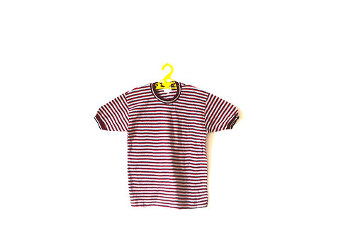 Vintage Retro 1970's Textured T-shirt 6-7 Years