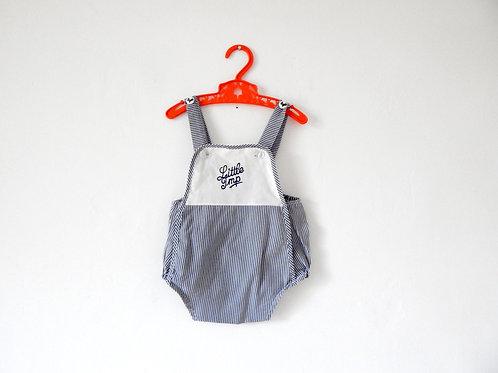 "Vintage Baby Romper 'Little Imp"" 3-6 Months"