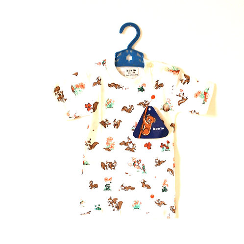Vintage Rare 1960's Squirrel T-Shirt 2 Years