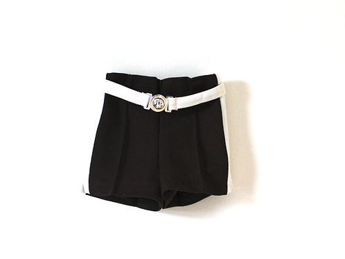 Vintage 1970's Brown Shorts White 2 Years