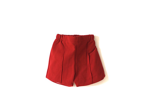 Vintage Rust Orange Summer 1970's Shorts Age 4