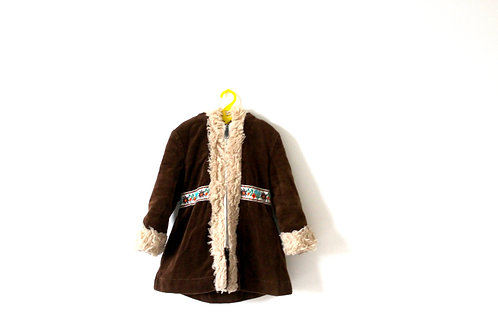 Vintage 1970's Afghan Winter Coat 4 Years