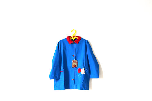Vintage 1950's Spanish Playcoat Balloon Kitsch Face