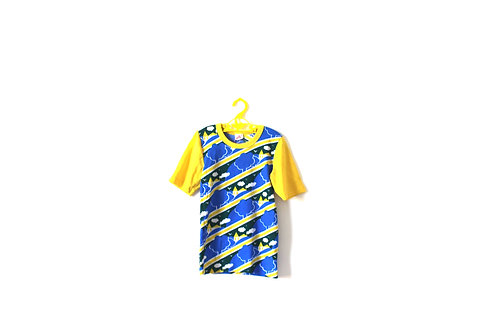 Vintage French 1960's Childrens T-shirt Clouds 4 Years