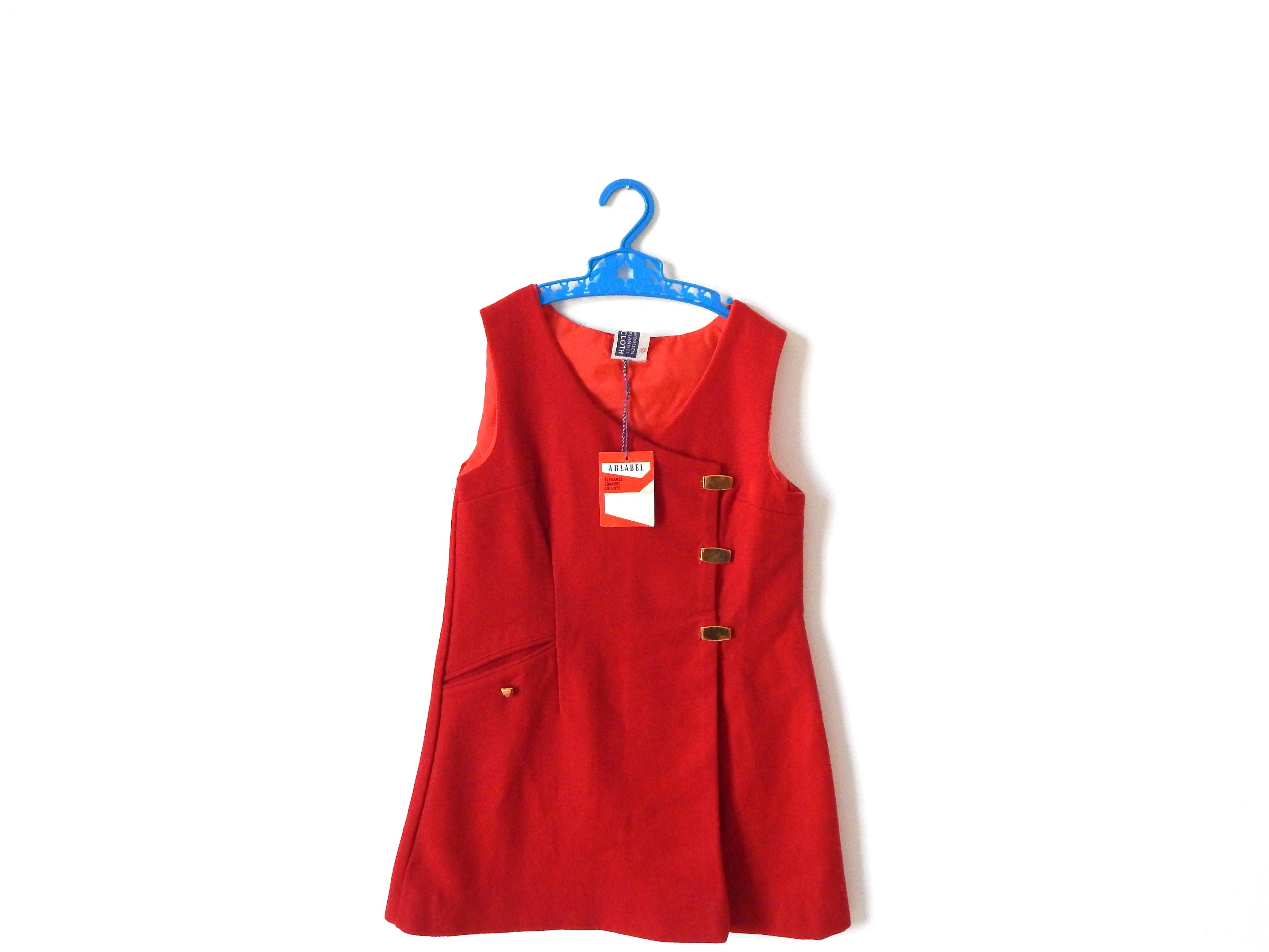 Age 6 red dress shirt