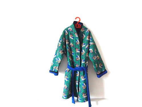Vintage Flintstones Dressing Gown 5-6 Years
