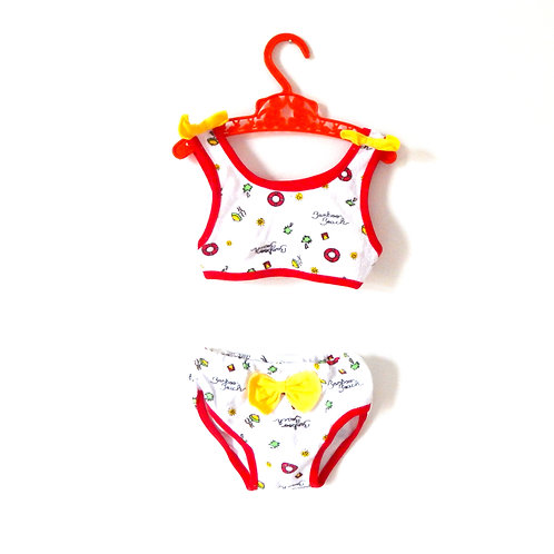 Vintage Baby Girls Bathing Suit 6-9 Months