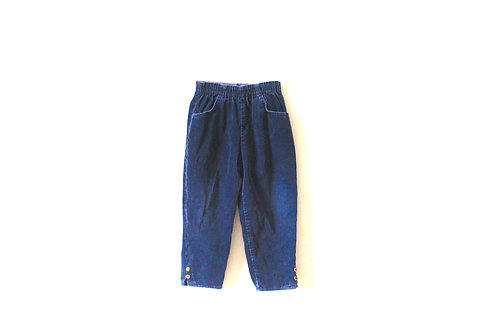 Vintage Cord Blue Winter Trousers 4 Years