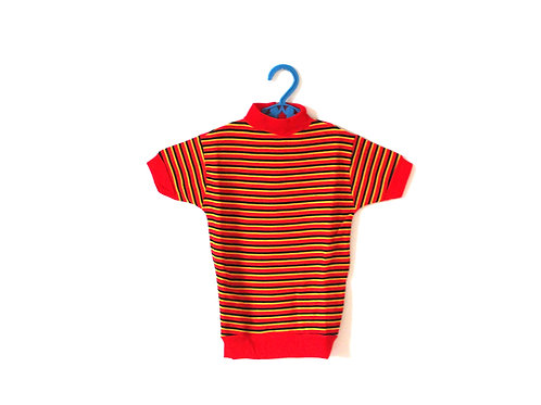 Vintage Triumph 1970's Striped T-shirt 3-4 Yrs