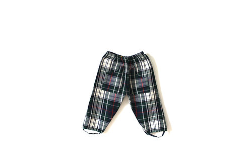 Vintage Checked 1950's Trousers 1-2 Years