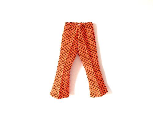 Vintage unisex Orange Flares 70's 5 Years