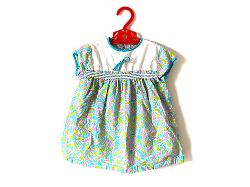 Vintage Girls 1960's Dress Psychedelic 6-9 Months