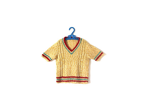 Vintage 1960's Thin Knitted Jumper 5-6 Years