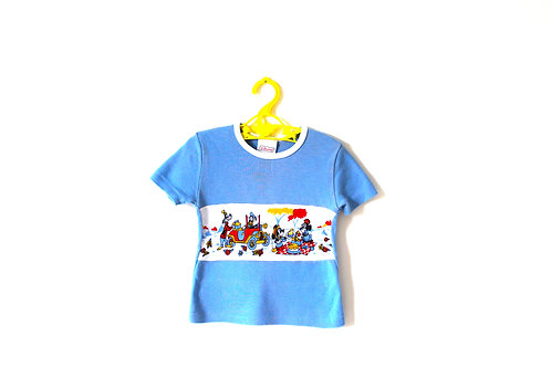 Vintage Mickey Mouse 70's Novelty T-shirt 2 Years